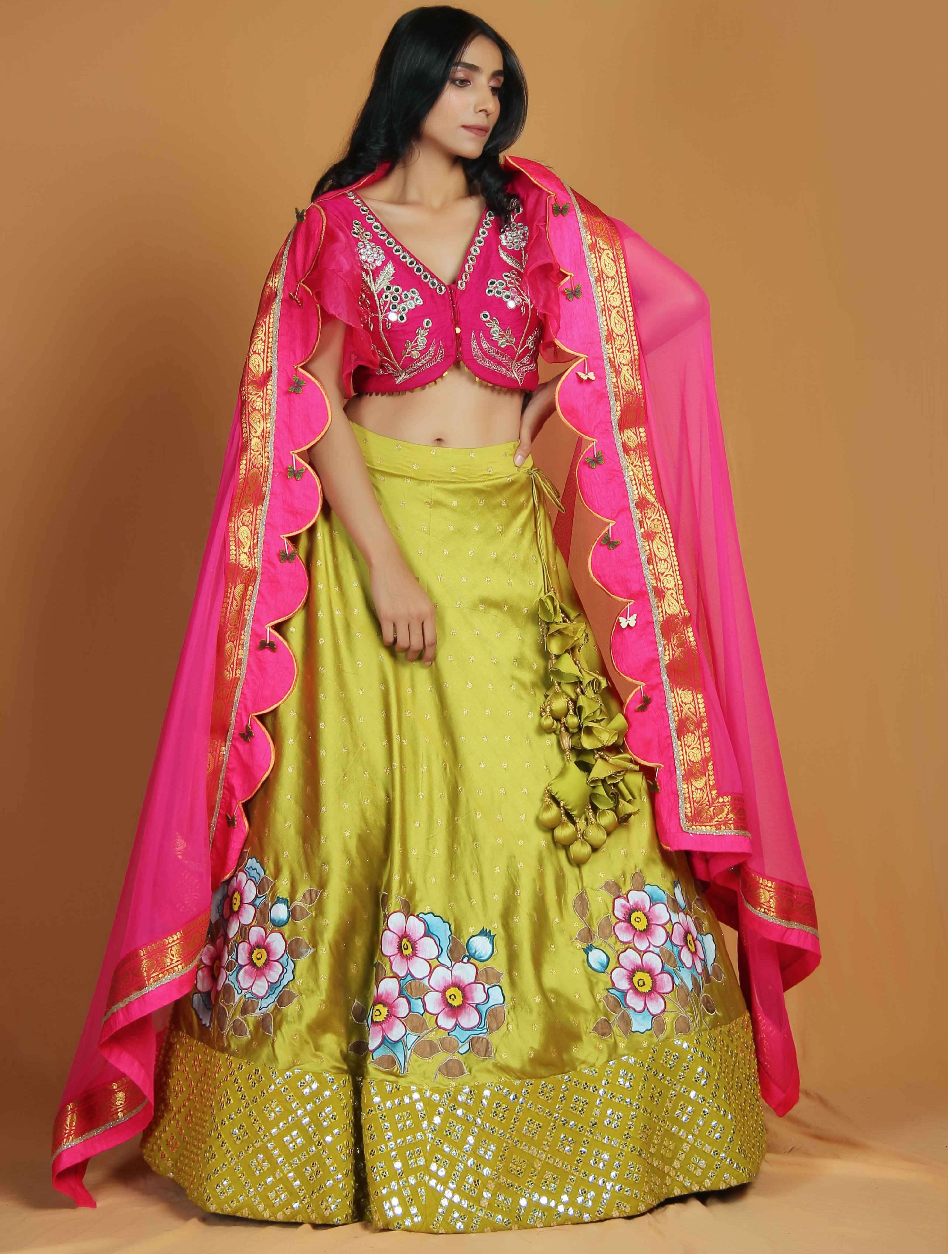 Bridal Lehenga at Pitampura, Delhi by Karigiri Studio