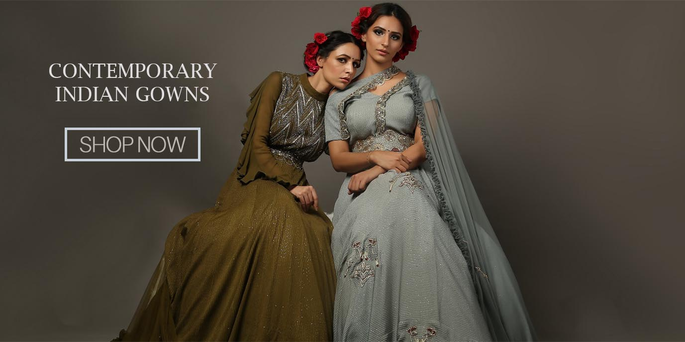 Contemporary Indian Gowns by Karigiri Studio